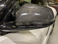 New Product! Whifbitz Toyota Supra A90 Carbon Mirror Caps